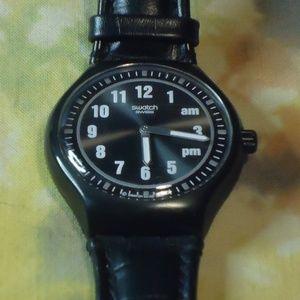 Swatch - AG 200 - Vintage - Wrist Watch - Black